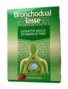Bronchodual - Tosse Confezione 20 Pastiglie Molli (Scadenza Prodotto 31/03/2021)