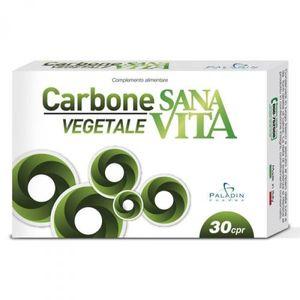 Sanavita - Carbone Vegetale Confezione 30 Compresse