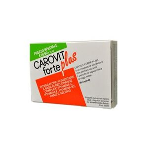 Meda Pharma - Carovit Forte Plus Confezione 30 Compresse (Scadenza Prodotto 28/06/2021)