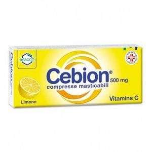 Cebion - Vitamina C Limone Confezione 20 Compresse Masticabili