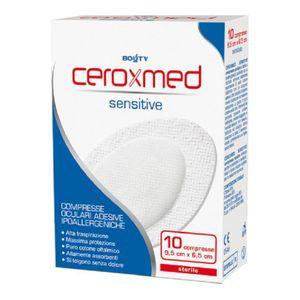 Ceroxmed - Sensitive Compresse Oculari 9.5X6.5 Cm Confezione 10 Pezzi