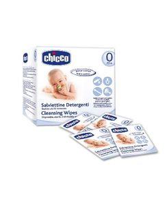 Chicco - Salviette Pulisci Ciuccio Confezione 15 Salviettine