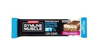 Enervit - Gymline Muscle Protein Barretta Doppio Strato 27% Gusto Cocco Confezione 45 Gr