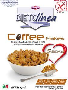Dietolinea - Coffee Flakes Senza Glutine Confezione 375 Gr
