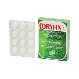Coryfin C - Senza Zucchero Mentolo Confezione 48 Gr (Scadenza Prodotto 28/01/2022)