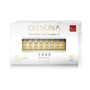Crescina - New Plate Like Complex 12 Ri-c 1300 Donna Confezione 20 Flaconcini