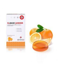 D3Base Junior - Gusto Arancia Confezione 30 Caramelle