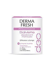 Dermafresh - Ipersudorazione Confezione 10 Salviette