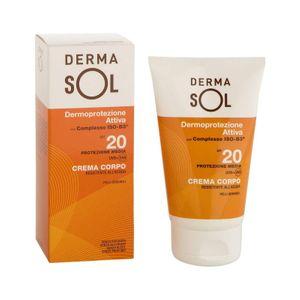 Dermasol - Crema Corpo Media Protezione Spf 20 Confezione 100 Ml