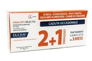Ducray - Anacaps Reactive Trio Confezione Confezione  3x30 Compresse (90 Compresse)