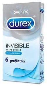 Durex - Invisible Confezione 6 Profilattici