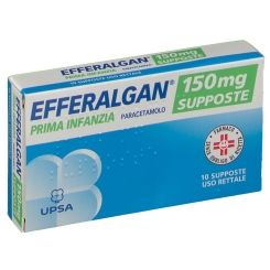 Efferalgan - Bambini 150 Mg Confezione 10 Supposte