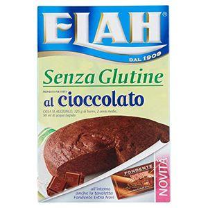 Elah - Preparato Torta Al Cioccolato Senza Glutine 282 Gr (Scadenza Prodotto 28/10/2021)