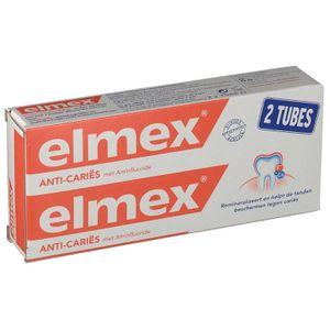 Elmex - Dentifricio Protezione Carie Confezione 2X75 Ml
