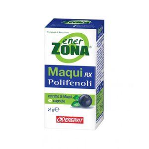Enervit - Enerzona Linea Integratori Maqui Rx Polifenoli Antiossidante Confezione 42 Capsule