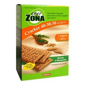 Enervit - Enerzona Cracker Gusto Rosmarino Confezione 7 Pezzi