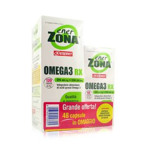 Enervit - Enerzona Omega 3 Rx 120+48=168 Ofc
