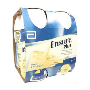 Ensure - Plus Banana Confezione 4X200 Ml (Scadenza Prodotto 28/09/2021)