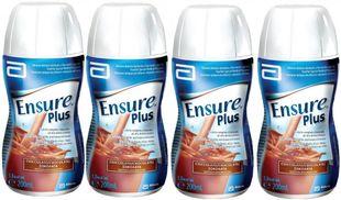 Ensure - Plus Chocolate Confezione 4X200 Ml