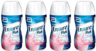Ensure - Plus Fragola Confezione 4X200 Ml