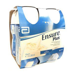 Ensure - Plus Vaniglia Confezione 4X200 Ml