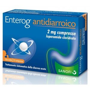 Enterogo - Antidiarroico 2 Mg Confezione 12 Compresse