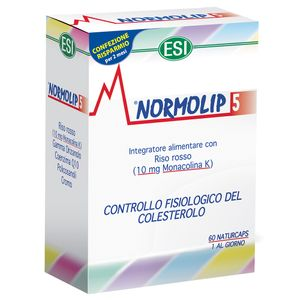 Esi - Normolip 5 Confezione 60 Capsule