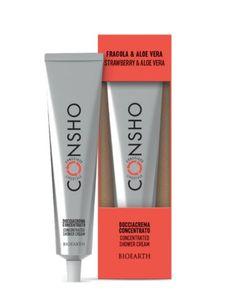 Bioearth - Consho Bagnocrema Concentrato Fragola e Aloe Confezione 100 Ml