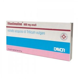 Fitostimoline - 600 Mg Confezione 6 Ovuli