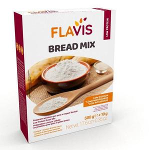 Flavis Mevalia - Bread Mix Aproteico Confezione 500 Gr