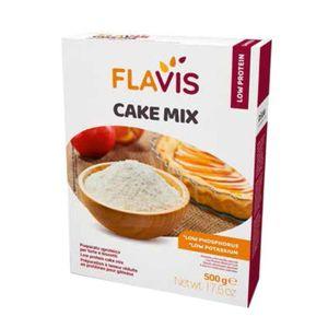 Flavis Mevalia - Cake Mix Aproteico Confezione 500 Gr (Scadenza prodotto 23/07/2021)