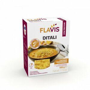 Flavis Mevalia - Ditali Aproteico Confezione 500 Gr
