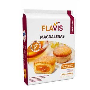 Flavis Mevalia - Magdalenas Aproteico Confezione 200 Gr