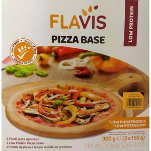 Flavis Mevalia - Pizza Aproteica Confezione 300 Gr (Scadenza Prodotto 04/12/2020)