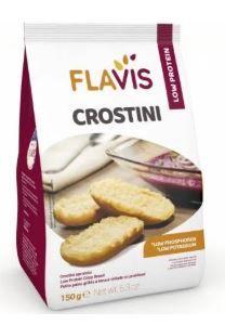 Flavis Mevalia - Crostini Aproteico Confezione 150 Gr (Scadenza Prodotto 13/12/2021)