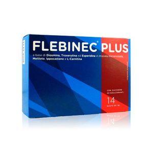 Flebinec Plus - Confezione 14 Bustine (Confezione Danneggiata)