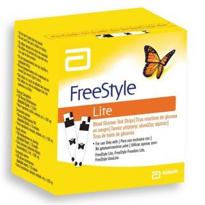 Freestyle - Lite Glicemia Strisce Confezione 25 Pezzi Monouso