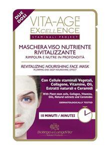 Bottega Di LungaVita - Vita Age Excellence Cellule Staminali Maschera Viso Confezione 15 Ml