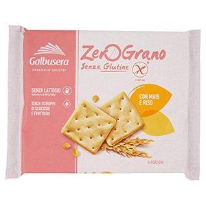 Galbusera - Zerograno Cracker Senza Glutine Confezione 320 Gr (Scadenza Prodotto 06/08/2021)