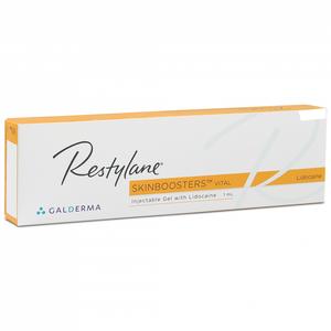 Galderma - Restylane Skinbooster Vital Light Con Lidocaina Confezione 1 Siringa Fiala Preriempita 1 Ml
