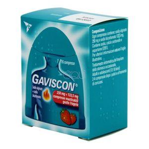 Gaviscon - Compresse Masticabili Gusto Fragola Confezione 16 Compresse