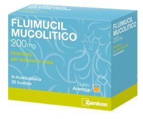 Fluimucil - Mucolitici 200 Mg Confezione 30 Bustine