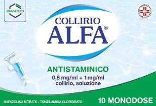 Alfa - Collirio Antistaminico Confezione 10 Monodose