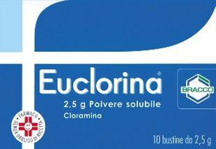 Euclorina - Polvere Solubile Confezione 10 Bustine