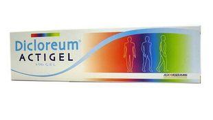 Dicloreum - Actigel 1% Confezione 50 Gr