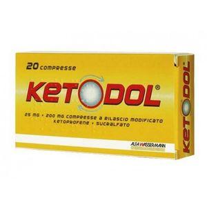 Ketodol - 25 Mg Confezione 20 Compresse