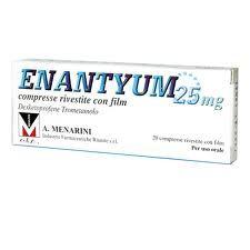 Enantyum - 25 Mg Confezione 20 Compresse