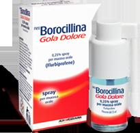 NeoBorocillina - Gola Dolore Spray Confezione 15 Ml
