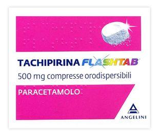 Tachipirina - Flashtab 500 Mg Confezione 16 Compresse Orodispersibili