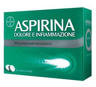Aspirina - Dolore e Infiammazione 500 Mg Confezione 20 Compresse